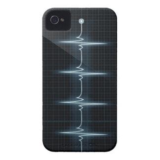 Hjärtatakten pulserar TraceiPhone 4 knappt där iPhone 4 Fodraler