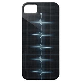 Hjärtatakten pulserar TraceiPhone 5 knappt där Barely There iPhone 5 Fodral