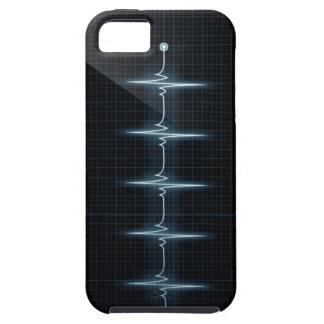 Hjärtatakten pulserar Vibe för Trase iPhone 5 Tough iPhone 5 Fodral