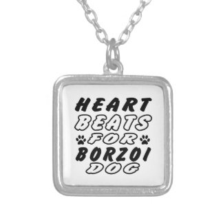Hjärtatakter för Borzoi Smycken