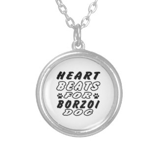 Hjärtatakter för Borzoi Anpassningsbar Halsband