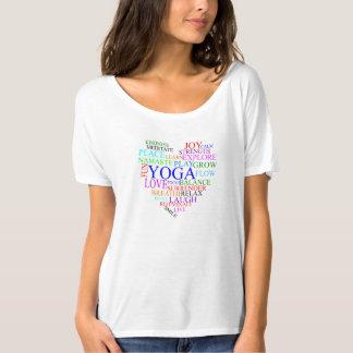HjärtaYogaskjorta - Yogagåva för henne T Shirt