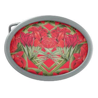 Hjärtor av det blom- bältet för Gladiola blommor