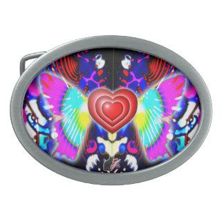 Hjärtor av Glys det ovala bältet spänner fast
