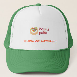 Hjärtor av handflatan HAT101 Truckerkeps