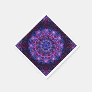 Hjärtor för KaleidoscopeApophysisMandala Papper Servetter