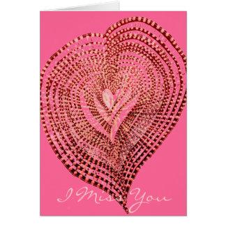 Hjärtor Hälsningskort