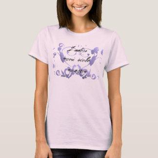 Hjärtor och blommahomeschoolt-skjorta tee shirts