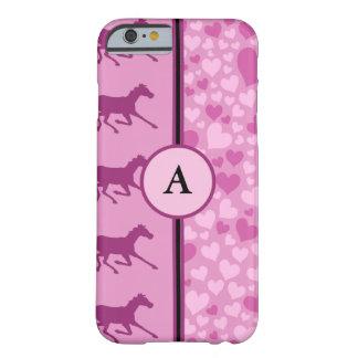 hjärtor och hästar barely there iPhone 6 skal