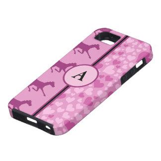 hjärtor och hästar iPhone 5 Case-Mate cases