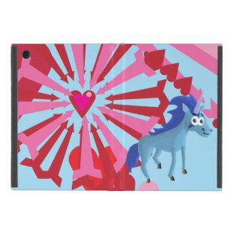 Hjärtor, stjärnor och Unicorns iPad Mini Skydd