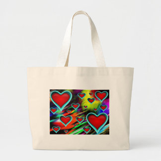 Hjärtor Tote Bags