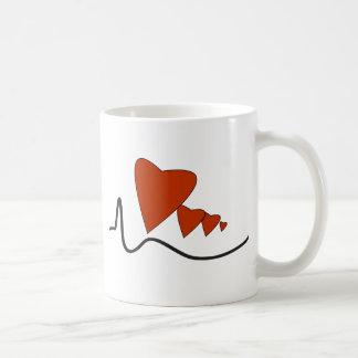 Hjärtslagmugg Kaffemugg