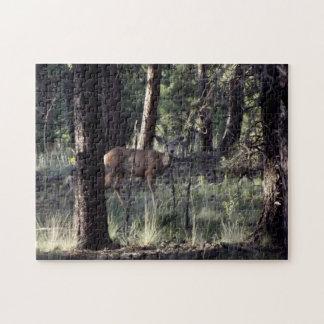 Hjort i borggården, Colorado Pussel