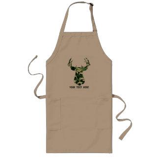 Hjort som jagar den Camo bocken Långt Förkläde