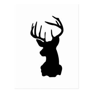 hjort vykort