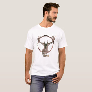 HjortT-tröja för utomhus- och naturenthusiasts. T Shirts
