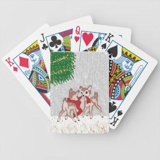 HjortWinter. Spelkort