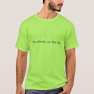Hjul på bussen t-shirts
