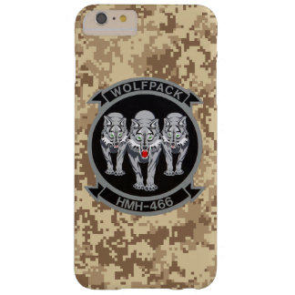 "HMH-466 ""Wolfpack"" marin- Camo Barely There iPhone 6 Plus Skal"