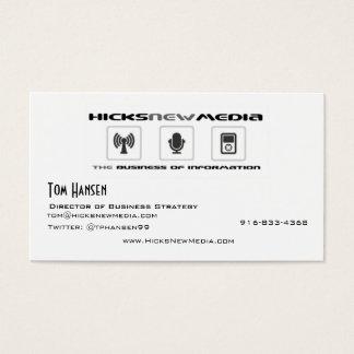 HNM-Tom Visitkort