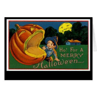 Ho! för en glada Halloween Hälsningskort
