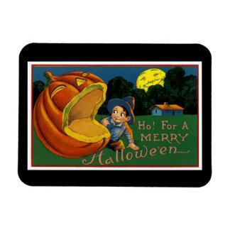 Ho! för en glada Halloween Magnet