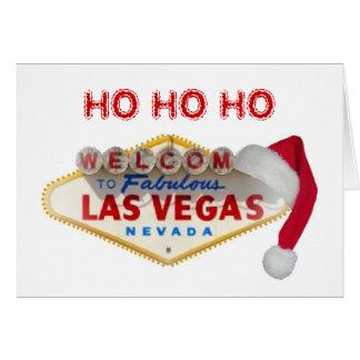 HO HO HO god julLas Vegas kort