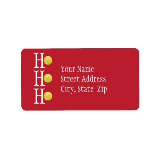 HO-HO-HO - personligadressetikett Adressetikett