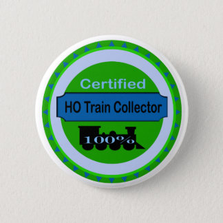 HO knäppas tågsamlaren Pinback/ Standard Knapp Rund 5.7 Cm