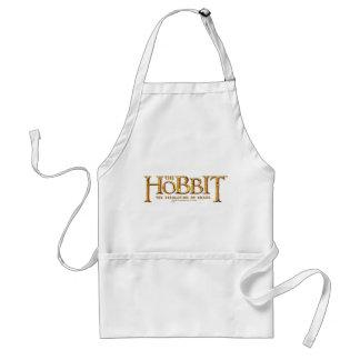 Hobbit logotyp - guld förkläde