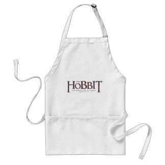 Hobbit logotyp - mörk förkläde