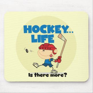 Hockey är där mer T-tröja och gåvor Musmatta