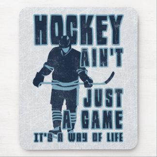 Hockey är inte precis en modiga Mousemat Musmatta
