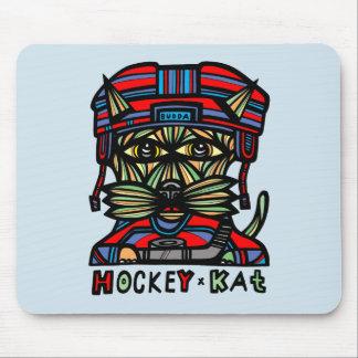 """Hockey Kat"" Mousepad Musmatta"