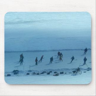 Hockey på sjön Monona Musmatta