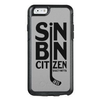 Hockey syndar tunnamedborgaren OtterBox iPhone 6/6s skal