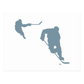 Hockey Vykort