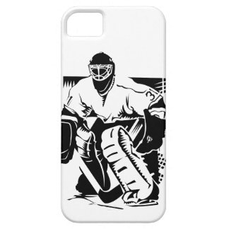 HockeyGoalie Barely There iPhone 5 Fodral