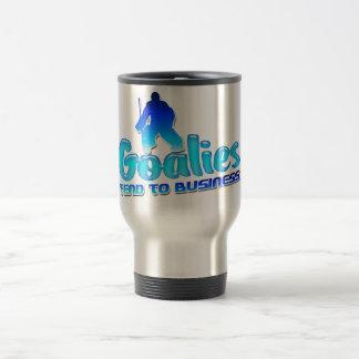 HockeyGoalies ansar till affärstravel mug Resemugg