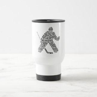 HockeyGoalietravel mug Resemugg