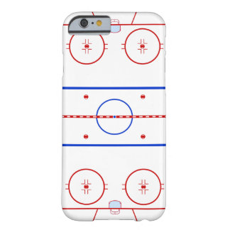 Hockeyisbana Barely There iPhone 6 Skal