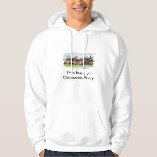 Hodded svettskjorta sweatshirt med luva
