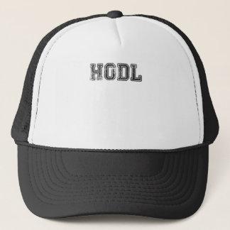 Hodl Cryptocurrency tryck Truckerkeps