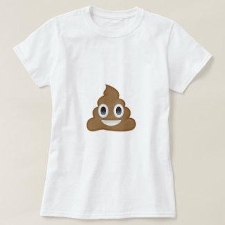 Hög av bajset Emoji Tee