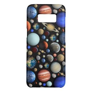 Hög av det themed mönster för planetutrymme galaxy s5 skydd