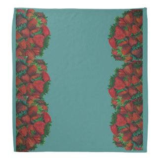 Hög av jordgubbar scarf