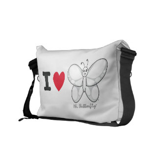 Hög Butterfly® messenger bag