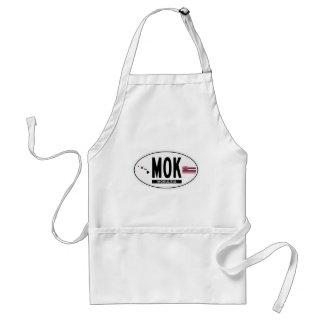 Hög-MOKULEIA-Klistermärke Förkläde