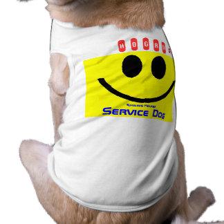 Hogan - le den tjänste- hunden för hjälpreda husdjurströja